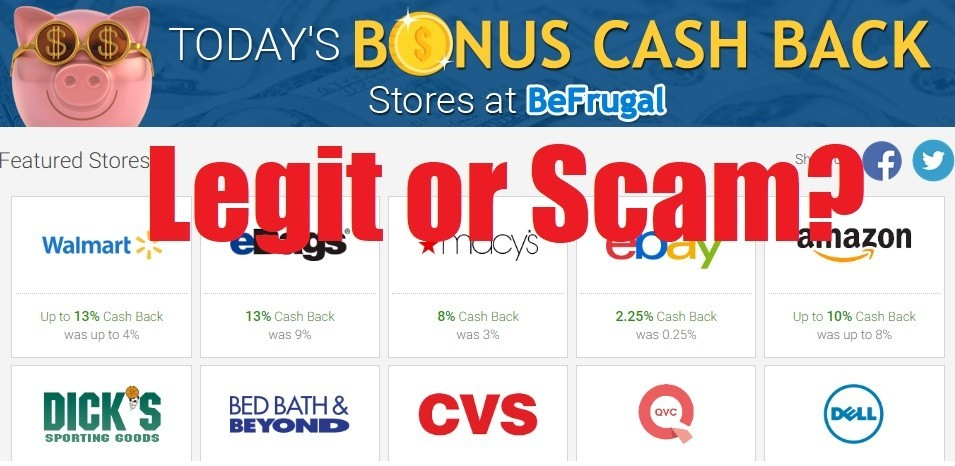 BeFrugal.Com – Legit or Scam? Get Paid With Online Shopping?