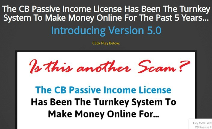 CB Passive Income Review: Scam? (Must Read)