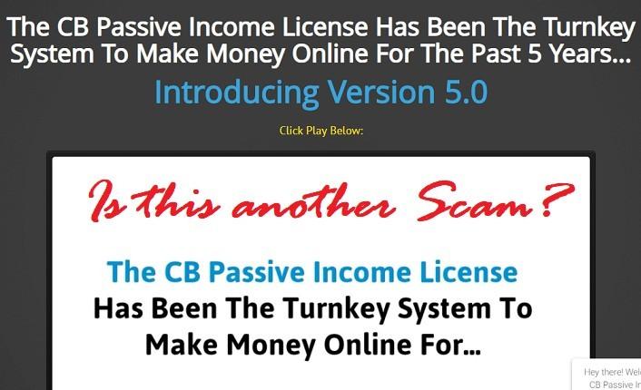 CB Passive Income Review: Scam? (Must Read)