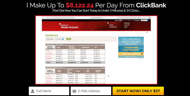 ClickBank Cash Code Review: Yes To $8,122.24 Per Day!