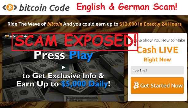 The Bitcoin Code Review: Scam Exposed Exclusive
