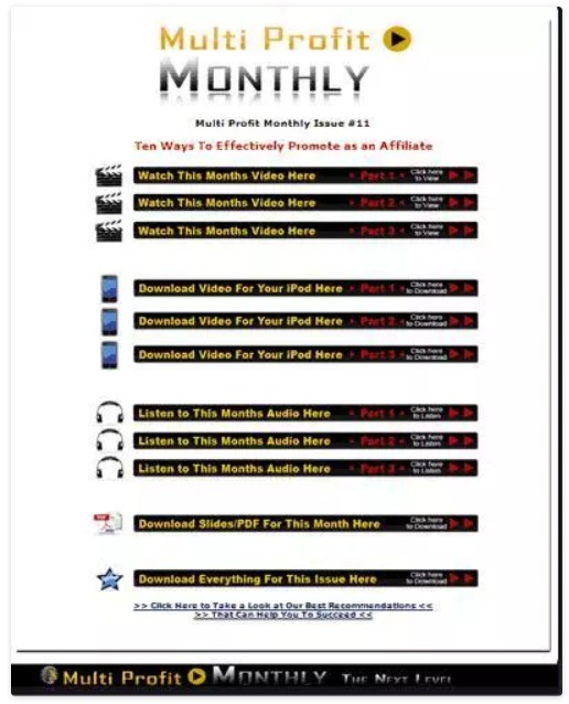 multi-profit-monthly-review