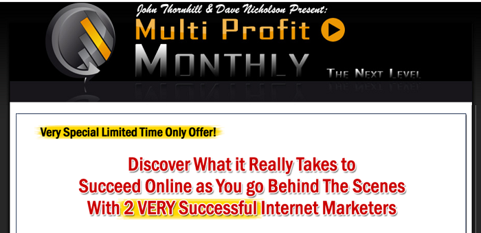 Multi Profit Monthly Reviews: Does It Worth It? [Honest Review]
