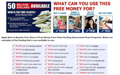 Federal Funding Programs Review: Get Free Money (Or Just A Scam?)