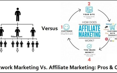 Network Marketing Vs Affiliate Marketing: Pros And Cons
