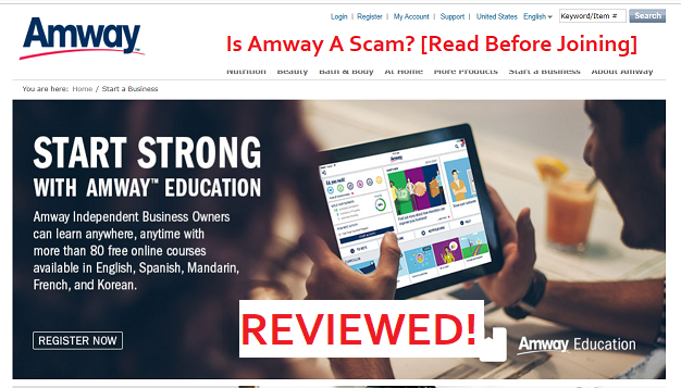 Is Amway A Scam? [Read Before Joining]