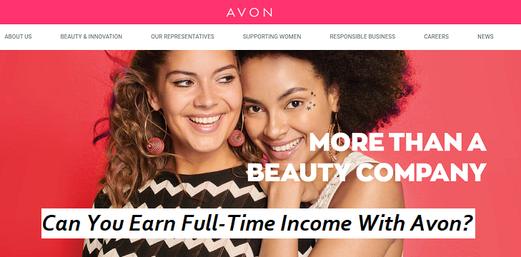 Is Avon A Pyramid Scheme Or Can You Earn A Full-Time Income?