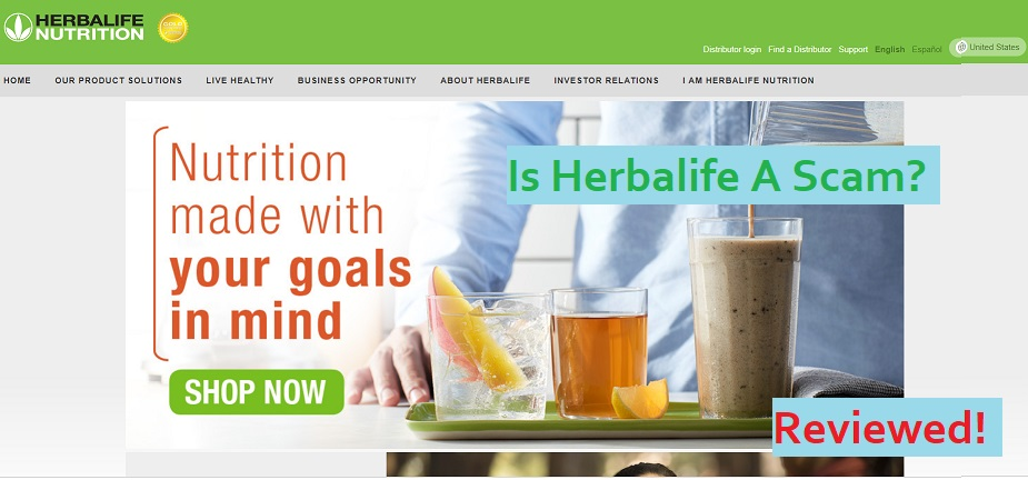 Herbalife Reviews [Your Dream Or A Scheme?]