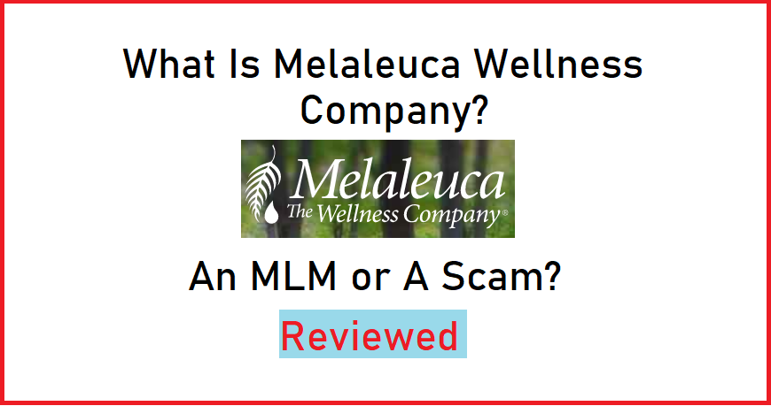 What Is Melaleuca Wellness Company? [An MLM Or A Scam?]